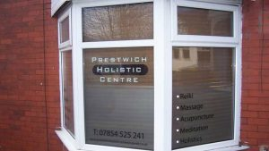 Prestwich Holistic Centre Therapy Room outside